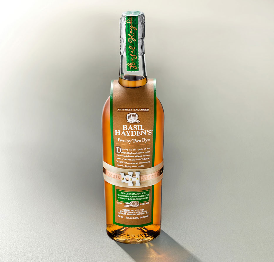 Basil Hayden's Two by Two Rye™